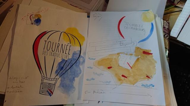 aquarele projet